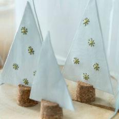 DIY mini-kerstboompjes uit klei anders top - Villa Appelzee