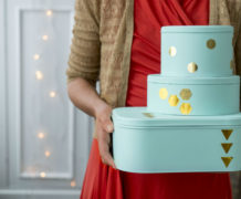 Recycle cadeauverpakking: geverfde blikken dozen - Villa Appelzee