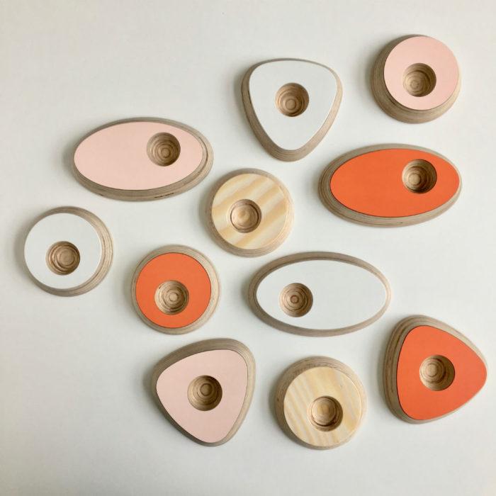 Design eierdopjes, recycled