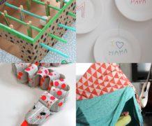 Collage van dit-ideeën voor kinderen